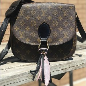 Louis Vuitton St Cloud GM Crossbody Purse bag